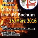 Osterfeuer, FC Bochum 1910/21 e.V.,  Bochum Hamme 2016