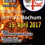 Osterfeuer 2017 beim FC Bochum 1910/21 e.V.